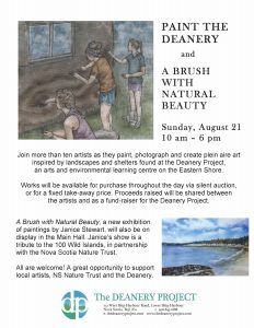 Paint the Deanery- Poster B