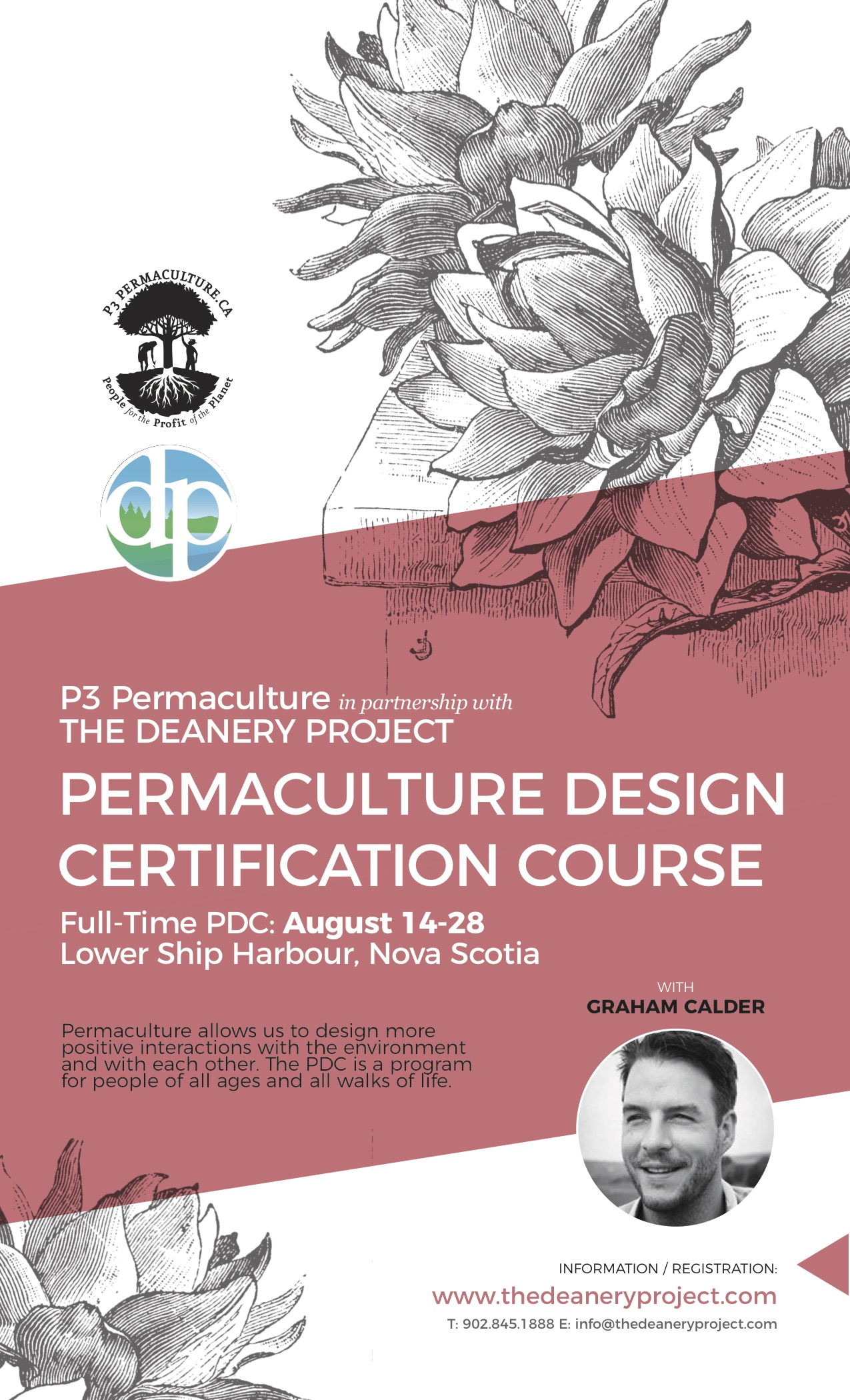 Permaculture Design Certification Course with P3- The Deanery Project